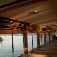 アイヌギャラリー船 船内の様子