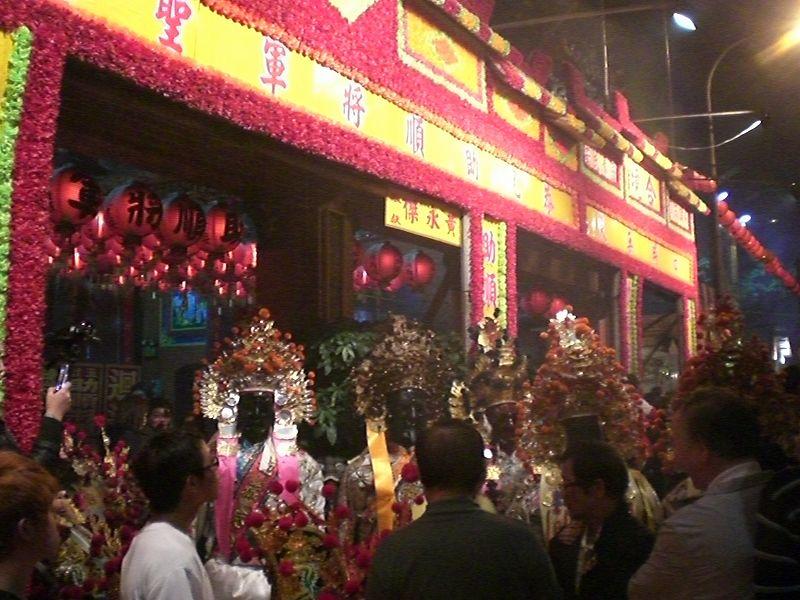 台湾 神様のお祭り
